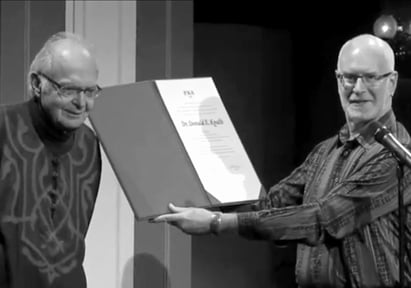 Dr. Donald Knuth and David Lemon