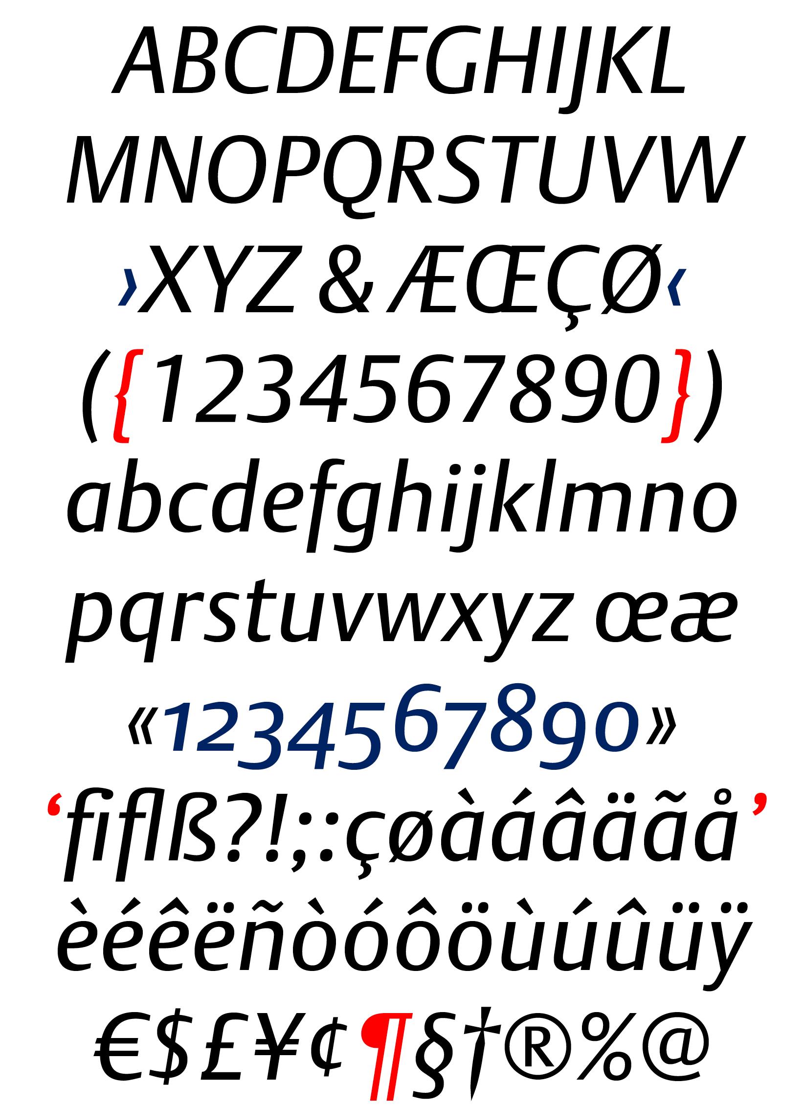 DTL Argo Regular Italic
