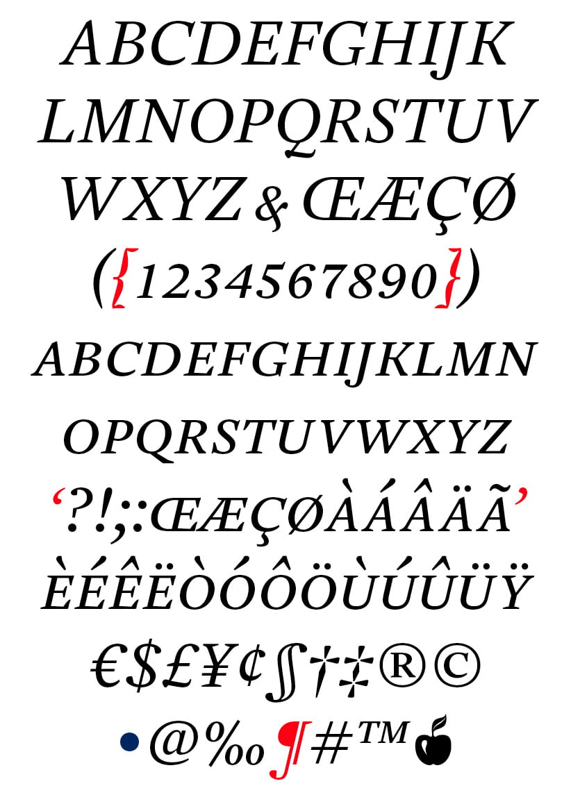 DTL Estuary Caps Regular Italic