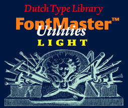 DTL FontMaster Light splash screen
