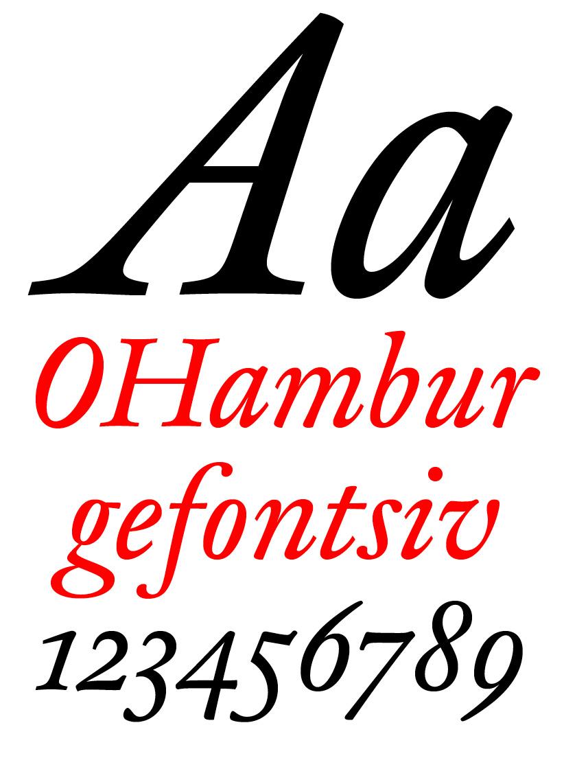 DTL Fell Text Regular Italic