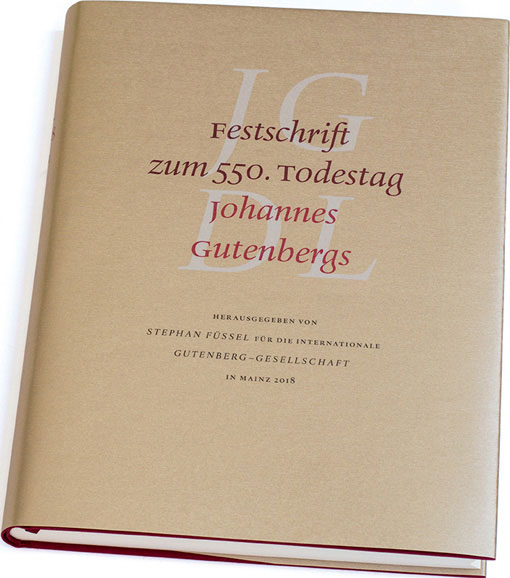 Cover of Gutenberg Jahrbuch 2018