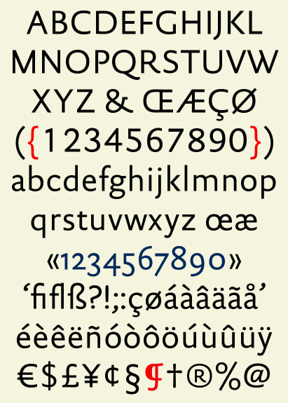 DTL Documenta Sans Regular