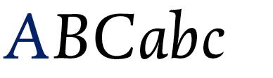 DTL Dorian Italic