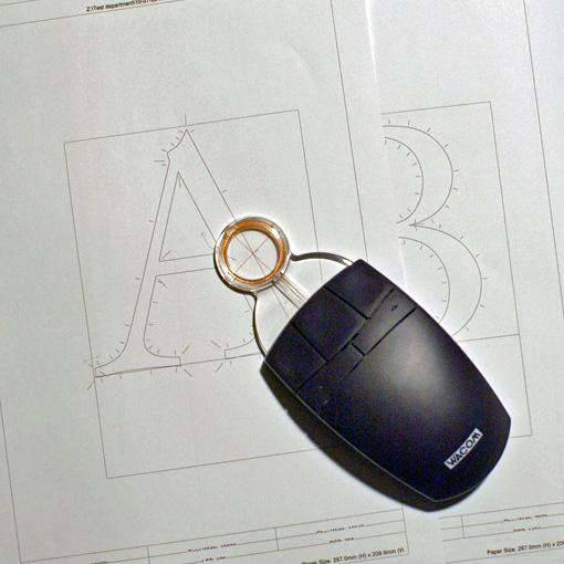 Wacom lens cursor and DTL VandenKeere