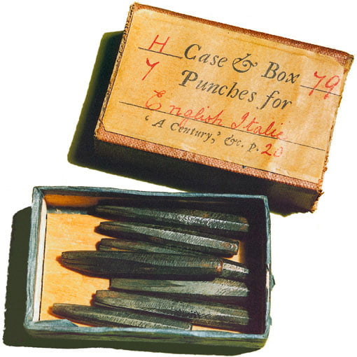 Matchbox with Fell punches