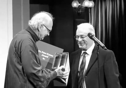 Dr. Donald Knuth and Dr. Peter Karow