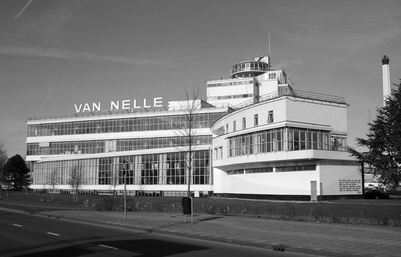 Van Nelle factory in Rotterdam
