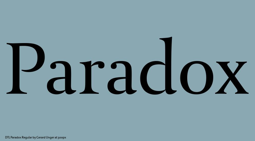Afbeeldingsresultaat voor dtl paradox